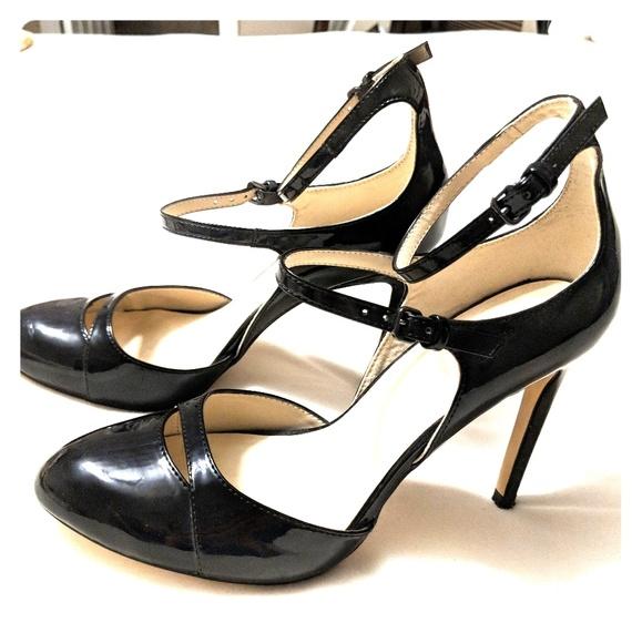 caa002add2c9 ZARA Heels w  Double Ankle Strap. M 5b4ea7e0c61777a8b35291f0